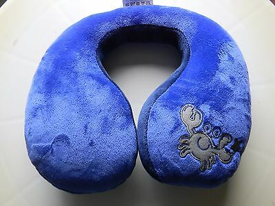 Child & Infant Head & Neck Protector Rest & Travel Buddy Pillow ~ Crab NEW