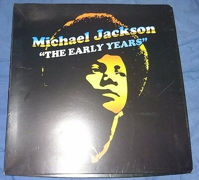 michael jackson the early years boxset t-shirt, cd very rare