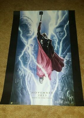 SDCC 2013 Marvel Exclusive Thor Poster