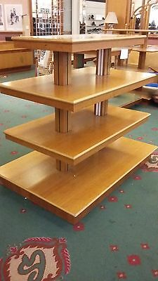4 Tier Table Shelf Display Counters