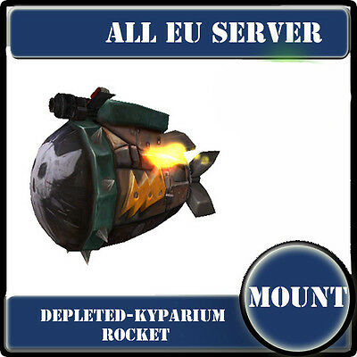 Geosynchronous World Spinner or Kyparium rocket /wow Mount / All EU Servers/
