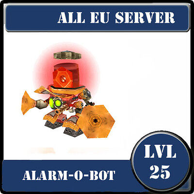 Alarm-o-Bot / wow  Battle Pet lvl 25 (rare) / All EU Server /