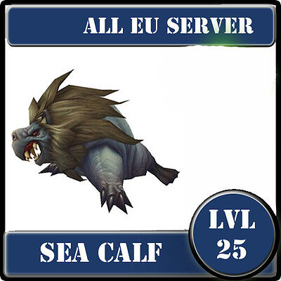 Sea Calf / WoW  Battle Pet lvl 25  / All EU Server /