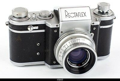 Camera Rectaflex Lens Schneider Xenon 2/50mm