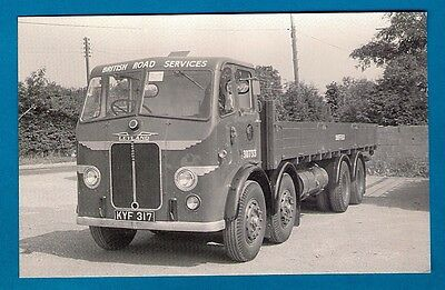 Postcard - British Road Services: Preserved Leyland Octopus: MB Transport Photos