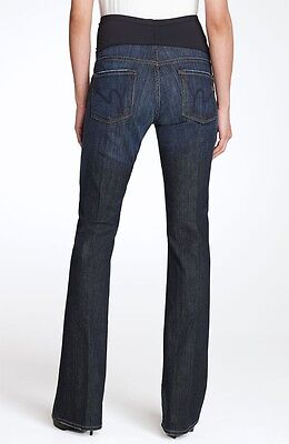 CITIZENS OF HUMANITY Kelly Bootcut Maternity Jeans, Pacific Blue Size 29