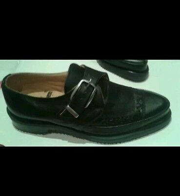 george cox shoes creepers leather brogues buckle platform unisex RRP £160