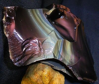 TWELVE (12) RAINBOW OBSIDIAN ROUGH STONE SPECIMENS ~ Combined Weight = 16 LBS