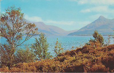 Kinloch Loch Leven and the Pap of Glencoe  #PT35635 Posted 1971