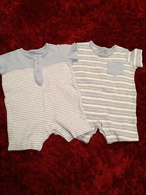 Matalan Baby Boy Rompers - 3-6 Months - New Without Tags