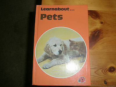 Vintage Ladybird Book Gloss Hard Back  Learnabout Pets