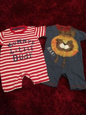 Baby Boy Rompers - 3-6 Months - New Without Tags
