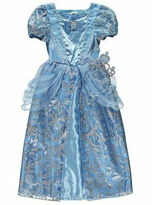 BRANDNEW AND TAGGED ( Disney CINDERELLA  COSTUME ) GIRLS DRESS SIZE 5-6 YRS