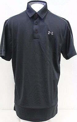 *NEW* Men's Under Armour Loose Fit Heat Gear Athletic Polo Shirt