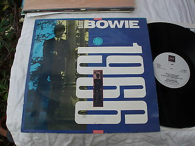 DAVID BOWIE LP 1966 ORIG UK 1987,Can't Help Thinking About Me.I Dig Everything..