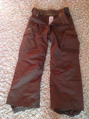 Men's Burton Snowboard Cargo Pants Trousers Small