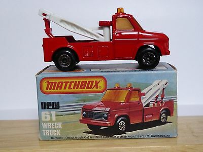Matchbox Lesney No.61d Ford Wreck Truck In Type 'L' Box (MINT MODEL!)