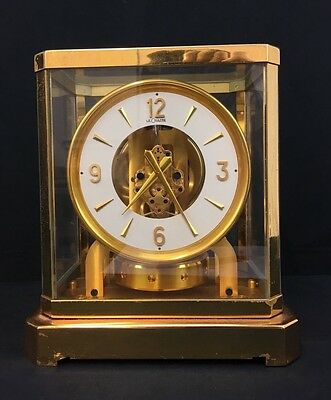 Gorgeous Swiss Le Coulter Atmos Clock with Fine Quality & Fine Workmanship