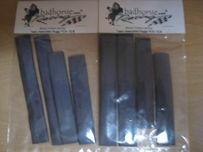 Associated RC8 Shock Covers - 2 sets