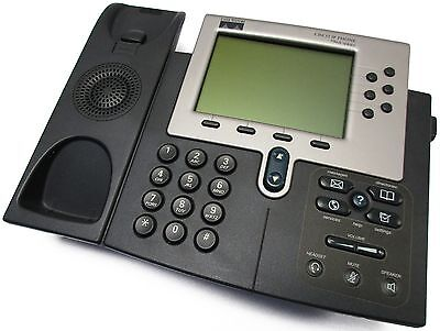 Lot of (10) Cisco CP-7960G VoIP 7960 Series Office Telephone w/o-Handsets