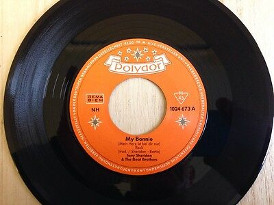 Tony Sheridan And The Beatles - My Bonnie/the Saints Mint Copy Polydor Re-Issue