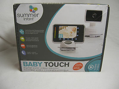 Summer Infant PTZ Baby Touch Digtal Color Baby Monitor Night Vision  32334