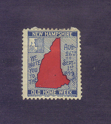 New Hampshire Old Home Week, 1899