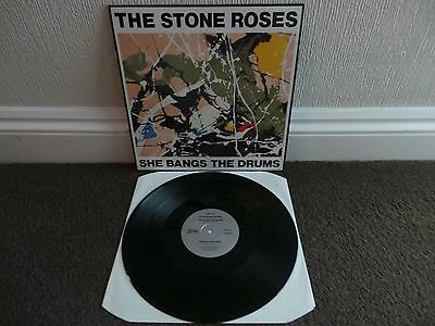 "THE STONE ROSES - She Bang's The Drum(UK 1989 12"" VINYL SINGLE / NR MINT!!)"