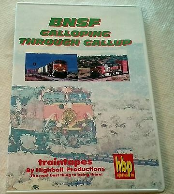 HBP Highball Productions BNSF Galloping Through Gallup DVD