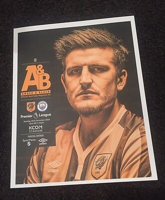 Hull City v Manchester City 26.12.16 Premier League Official Programme.