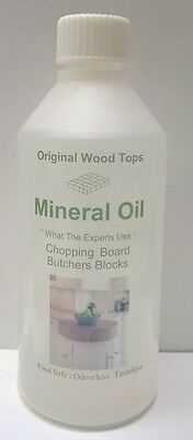 Pure Mineral Oil  - Food safe-cutting board- 250ml - chopping boards