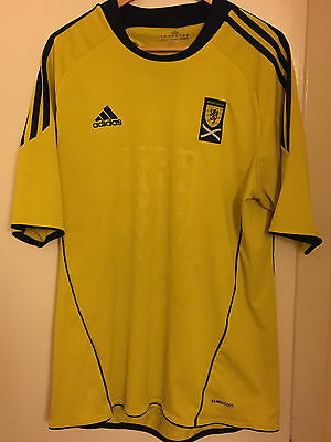Scotland Away Adidas Football Shirt size Adult Large