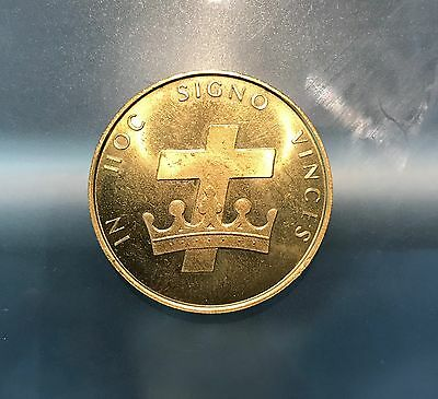 1978 Springfield, OH Knights Templar Masonic 100th Anniversary Token Coin, lot2