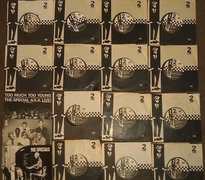 14 two tone paper label 3 picture sleeves Original Sleeves The Specials Madness