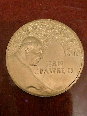 2zlote John Paul II 2005 polish coin