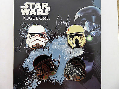 Disney Trading Pins 118495 Star Wars: Rogue One Helmets Booster Pack