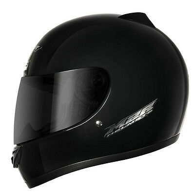 M2R M1 full-face road motorcycle helmet matt black size M medium RRP$109 1110325
