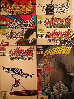 Daredevil Lot 8 Comics Marvel 1994 Issues #326-333 High Grade White Pages