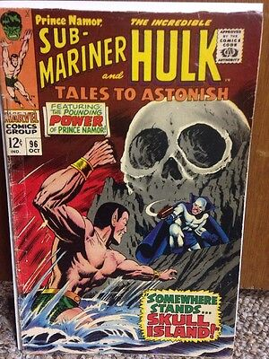 Tales To Astonish 96 Sub-Mariner Hulk Namor