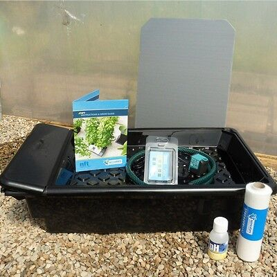 Nutriculture GT205 NFT Gro-Tank Complete Hydroponic Grow System hydroponics
