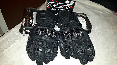 Rst-urban-Air-leather-motorcycle-gloves- size L