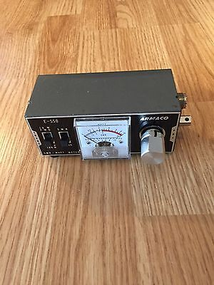 Armaco E-550 SWR Watt Meter  For Ham Radio
