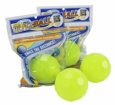 BLITZBALL Baseball spin and curve cricket Brand New In Packaging UK 1 Ball Only