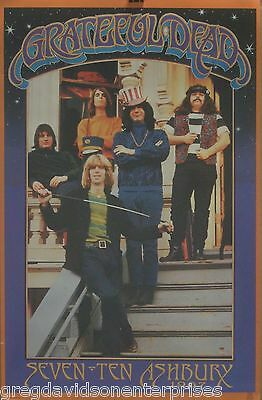Grateful Dead 22x34 Seven Ten Ashbury Music Poster 2000