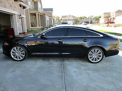 2012 Jaguar XJ XJ SUPERCHARGED 2012 Jaguar XJ Supercharged Black/Black SHARP! PRICED TO SELL! CLEAN CARFAX