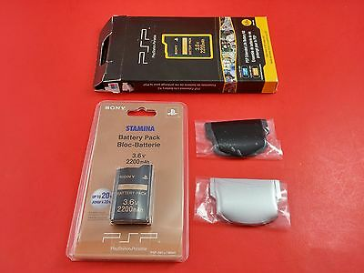 Sony PSP Stamina Bloc-Battery Pack 3.6v 2200Mah Model PSP-280u Brand New Sealed