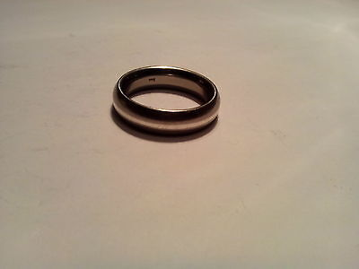 Vintage Sterling Silver 925 Band Ring