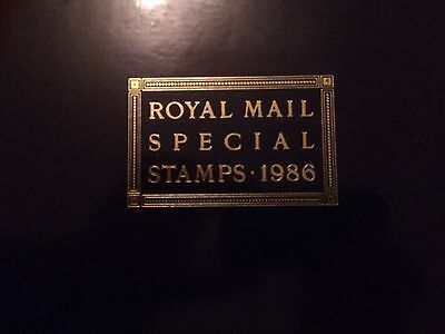 Royal Mail Special stamp Album 1986 (Including all MNH stamps)