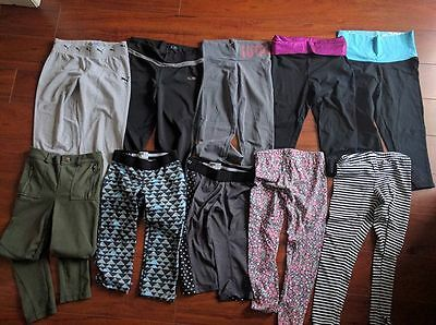 Girls pants and leggings lot size 8-10