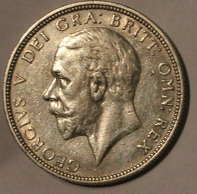 1931 George V Silver Florin Coin EF? - Great Britain. High Grade